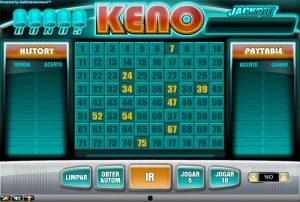 Bet9 Bônus Keno
