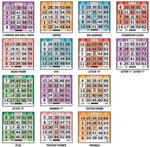 Padrões do bingo